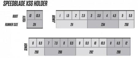CCM Speedblade XSG ホルダー
