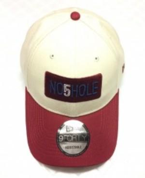 NO5HOLE NewEra 9FORTY キャップ ベージュ