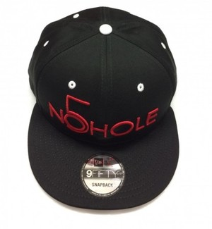 NO5HOLE NewEra 9FIFTY キャップ 黒