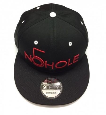 NO5HOLE NewEra 9FIFTY キャップ 黒