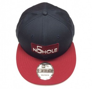 NO5HOLE NewEra 9FIFTY キャップ 紺赤