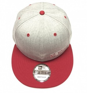 NO5HOLE NewEra 9FIFTY キャップ グレー
